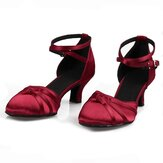 Women 5.5cm Heel Tango Ballroom Modern Fashion Dance Shoes