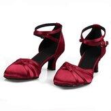Femmes 5.5cm Talon Tango Ballroom Chaussures de danse de mode moderne