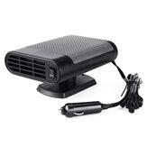 2 in 1 draagbare autoverwarmer koelventilator 12V / 24V luchtverwarmer voorruitverwarmer ontdooier
