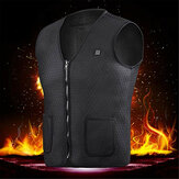 Electric Heated Vest Washable USB Charging Heating Jecket Winter Warm Vest