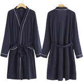 New Soft Dressing Gown Bath Spa Robe Unisex Womens Mens Wrap Nightwear Bathrobe