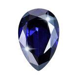 Gemme sfuse di tanzanite reale da 6 a 8 ct AAA Decorazioni con diamanti zaffiro blu a forma di pera