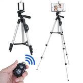 Portátil flexível longo tripé de câmera bluetooth Controle Remoto com suporte para telefone celular