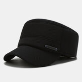 Corduroy platte hoed voor heren