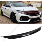 Couvercle de garniture de protection de pare-chocs de capot avant pour 2016-2018 Honda Civic All Model