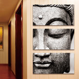 3 Panels Picture Statue Painting Print Cambric Wall Sticker Art Home Decoration