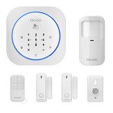 Digoo DG-MAS1 Nowy 433 MHz Bezprzewodowy zestaw alarmowy do domu GSM DIY Domowy system alarmowy IOS i Android APP Domofon Syrena Bezpieczeństwo w domu