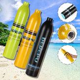 DEDEPU 0.5L Запасной кислородный баллон с аквалангом для подводного плавания Подводный мини-баллон с дыхательным пузырем Подводное плавание А