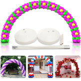 DIY Large Balloon Arch Set Column Stand Base Frame Kit Birthday Wedding Party Decor