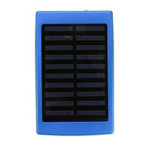 Solar Charger Kasus Portabel DIY 5x18650 Power Bank Daya 20000 mAh Solar Power Bank Kasus Kotak Dual USB Kit Charger Telepon Senter