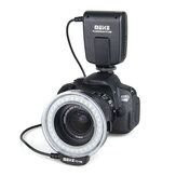 Meike FC-100 Manual LED Macro Ring Flash Video Light for Canon for Nikon Digital DSLR Camera