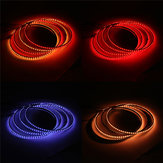 4PCS 15.5 Inch General Car 60 LED Wheel Ring Lights RGB 5050 SMD bluetooth Control Lamps DC12V 25W Single Row Light Strip