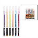 12/24/36/48 Cores 1.0mm Fine Liner Canetas Marcadoras Coloridas Flash Caneta Gel Para Estudantes Material de Escritório Escolar