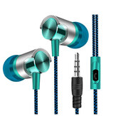 Universal 3,5-mm-In-Ear-Stereo-Ohrhörer Super Bass Music Headset mit Mikrofon für Mobiltelefone