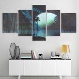 5 stks Modern Art Landschapsschilderijen Canvas Wall Art Foto Home Decor