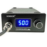 KSGER T12 saldatura Stazione STM32 Regolatore digitale ABS Caso 907 saldatura Maniglia in ferro Modalità di sospensione a riposo automatico Riscaldamento T12-k Suggerimento