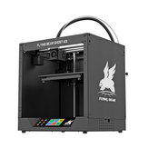 Flyingbear® Ghost 4S FDM Metal 3D Printer 255*210*210mm Printing Size with 4.3 inch Color Touch Screen Support WIFI Connect/Filament Runout Sensor/Power Resume Function/Fast Assembly