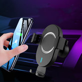 10W Qi Cargador inalámbrico Cargador de aire de carga rápida Coche Soporte para teléfono para 4.0-6.5 Inch Teléfono inteligente