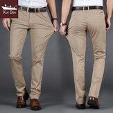 Golden Shield Brand Casual para hombres Pantalones Delgado Recta sección delgada Algodón Casual Youth Casual Pantalones Pantalones para hombres