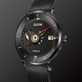 DOM M-1299 Ultra Thin Business Style Men Wrist Watch