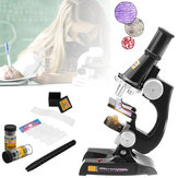 Children's Kids Junior Microscope Science Lab Set with Light Educational Toy