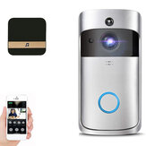 Wifi Samrt فيديو Doorbell Intercom PIR Detection الة تصوير Night Cloud Cloud Storage
