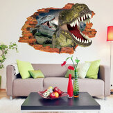 50x70cm Bedroom Dinosaurs Wall Sticker Wall Decal Wall Decal 3D Art Stickers Vinyl Kids Room Decor