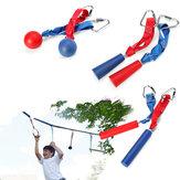 80 kg Capacité portante Corde d'escalade Tige Crochet Sports de plein air Escalade Équipement Bras Formation Sauvetage Rappelling