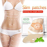 5 pezzi Dimagrante adesivi Dimagrante Belly Button Legs Legs Bell