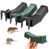 Reusable Plastic Mousetrap Not Killing Mouse Trap Catch Bait Capture Humane Mice Rodent Hamster Cage Pest Control