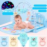 Baby Play Mat Game Music Aptitud Manta Juguete educativo temprano Proyección de carga directa Versión de nave espacial Recién nacido Juguete para bebé