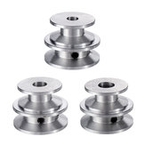 Double Groove 30&40mm Pulley 8/10/12MM Fixed Bore Pulley Wheel for 10MM Belt