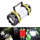 IPRee® 850LM LED+T6 USB Light 4 Modes HandHeld Emergency Lantern Flashlight Spotlight Outdoor Camping