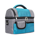 8L Portable Picnic Bag Insulated Cooler Lunch Bag Food Container Pouch Outdoor Camping