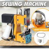 220 V Tragbare Elektrische Nähmaschine Verschließmaschinen Satz für Heimtextilien Industrielle Tragbare Tasche Nähmaschine
