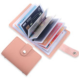 Porta carte 26 scomparti porta carte portatili in pelle antifurto Pennello Shield NFC / RFID Card Holder