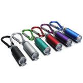 Mini LED Convex Mirror Flashlight Lamp Keychain Light Torch Keyring Multi-colors