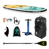 WATER LIVE Free Force 10,6 x 33 x 6 Zoll Surfbrett 15-18 PSI Max. Belastung 105 kg Wassersport SUP Board Stand Up Paddle