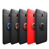 Bakeey Xiaomi Redmi 8A 360º حلقة حامل المغناطيسي الدوارة Soft TPU صدمات واقية حالة وقائية