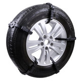 TPU Auto Tire Snow Chain Anti-Skip Belt Safe Driving For Snow Ice Sand Muddy Offroad For Car SUV VAN Wheel