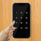 Electronic Digital Smart Password Keyless Door Lock Code Keypad Touch Screen