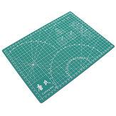 TANGSHI A4 Tappeto da taglio autoportante a griglia Durevole PVC Craft Card Tessuto Tagliere di carta in pelle Patchwork Strumenti