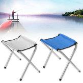 35cm Portable Chaise De Pliage En Plein Air En Plein Air Voyager En Plein Air Randonnée Camping Chaise Pêche Plage BBQ Tabouret