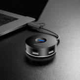 Baseus Round Box HUB Adapter Dock High Speed Type C HUB USB 2.0 Splitter Expander for MacBook Pro Huawei Mate