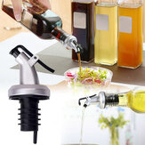 Olive Oil Sprayer Vinegar Seal Leak-proof Lock Plug Bottles Cover ABS Food Grade Plastic Nozzle Sprayer Liquid Dispenser Bottle Stopper