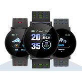 XANES® 119Plus 1.3-inch kleuren touchscreen Hartslagmeter Smart Watch IP67 Waterdichte externe camera Meerdere sportmodi Armband Fitness Tracker