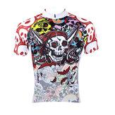 Maglia da ciclismo da uomo con cerniera a rapida asciugatura Camicie per mountain bike