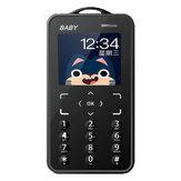 KUH T5 1,77 дюймов 500 мАч Bluetooth Dialer FM Радио Черный список самый маленький мини-телефон с карточкой для детей