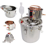 5 Gal Home Alcohol Distiller Moonshine Roestvrij staal Water Alcohol Oil Brew Kit