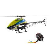 XLPower XL550 6CH 3D Flying RC Helicóptero Kit con 4020 1100KV Motor Sin escobillas